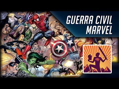 O que é e como surgiu a Guerra Civil Marvel nos quadrinhos? | Heroicamente Explicado | Episódio #17