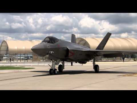 First F-35C Arrives at Eglin AFB