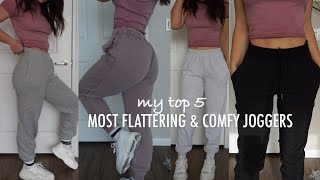 Top 5 Favorite Sweatpants/Joggers | Comfy, Cute, & Casual