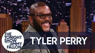 Tyler Perry Tries to Keep Jimmy from Spoiling His Movie A Fall from Grace