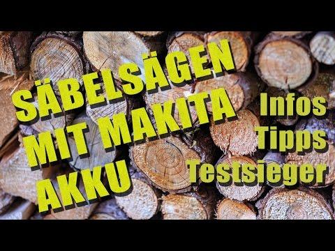 Säbelsägen mit Makita Akku | Infos, Tipps und Testsieger | SaebelSaegen.net