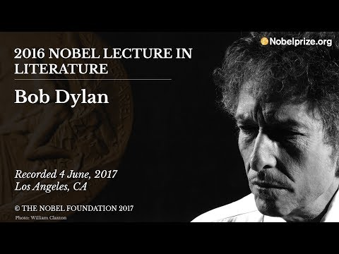 Now you can hear Bob Dylan's Nobel Prize lecture · Newswire · The A.V. Membership