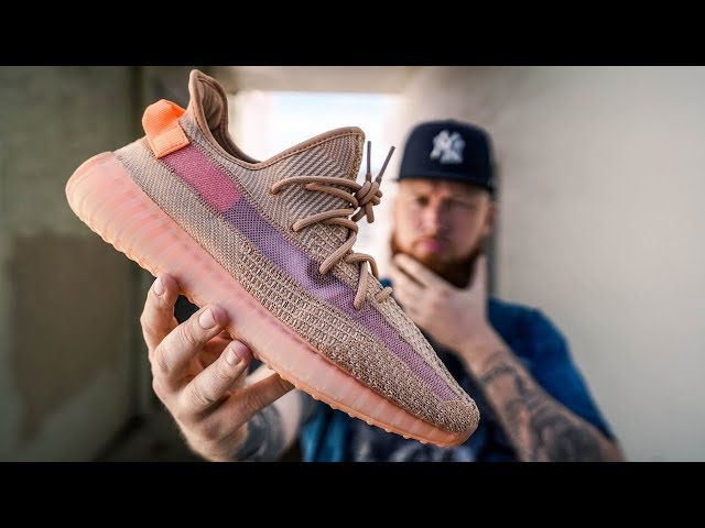HOW GOOD IS THE ADIDAS YEEZY 350 V2 CLAY?! (Early In Hand & On Feet Review)