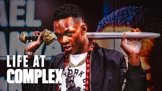 Israel Adesanya Has The Most Swag In The UFC | #LIFEATCOMPLEX