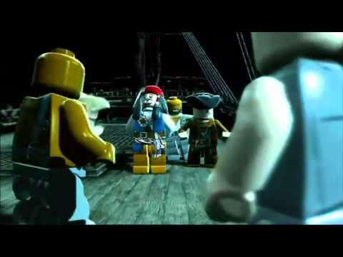 Vidéo LEGO Jeux vidéo PSPLPDC : Lego des Pirates des Caraïbes PSP