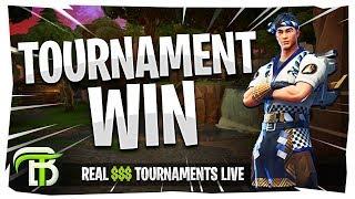 TOURNAMENT WINS EVERYWHERE | FORTNITE REAL $$$ TOURNAMENTS LIVE