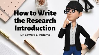 How to Write the Research Introduction