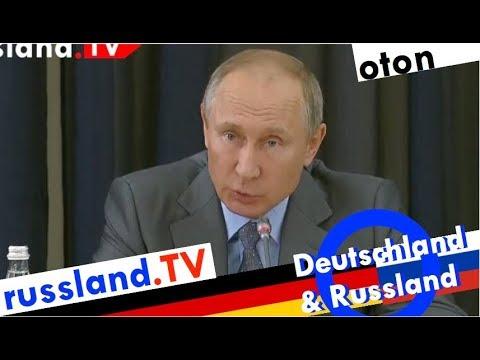 Putin zur deutsch-russischen Zusammenarbeit auf deutsch [Video]
