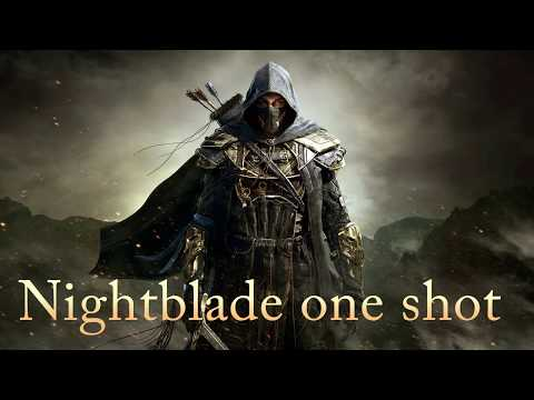 ESO: pvp StamBlade one shot with 2h ultimate (THE M O A B build