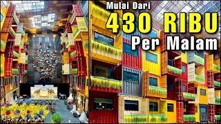TIDUR DI DALAM CONTAINER??? - Review Qubika Boutique Hotel Tangerang