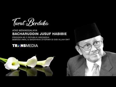 Turut Berduka Atas Meninggalnya Bacharuddin Jusuf Habibie