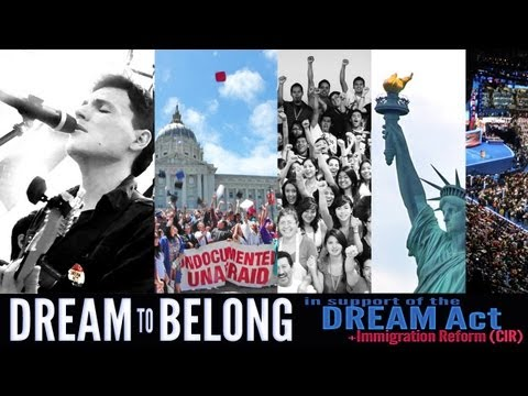 Dream to Belong ( Immigration Reform song ) - Andres Useche (for Dreamers AND their families)