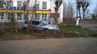 2018-10-20 ДТП у вокзала Accident at the railway station