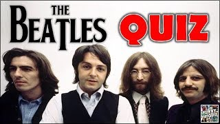 "How Much Do You Know About ""THE BEATLES""? Test/Trivia/Quiz"