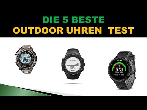 Beste Outdoor Uhren Test 2019