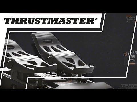Видео № 0 из игры Дополнительные авиа-педали Thrustmaster TFRP RUDDER