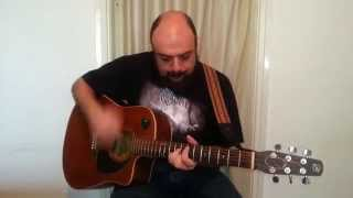 """Fred Adra """"Lochness"""" (Judas Priest cover), [Metal on Acoustic]"""