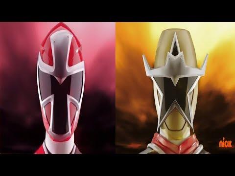 Power Rangers Ninja Steel - Red Ranger Morph and Roll Call