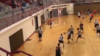 Pass in the paint for underhanded 2
