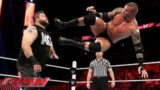 Randy Orton vs. Kevin Owens: Raw, July 27, 2015