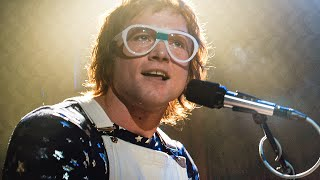 Crocodile Rock Song Scene   ROCKETMAN (2019) Movie Clip