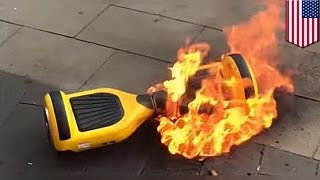 Hoverboard fires: Amazon halts sales of self-balancing scooters over safety fears - TomoNews