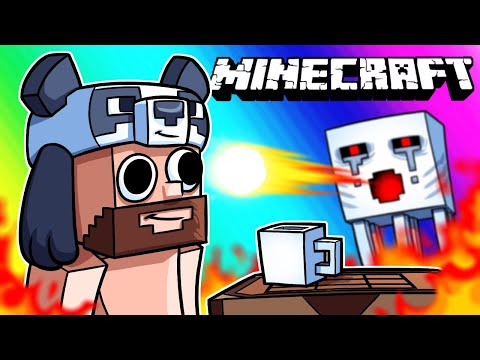 Minecraft Funny Moments - A Fine Day in The Nether!