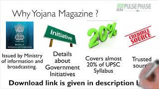 Yojana Magazine - Must read for UPSC aspirant, Why you should read Yojana Magazine for UPSC exams.