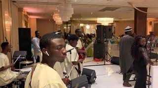 Jazzy Tee Band Live In Staten Island NY Doing Some Covers In Between Tungba......