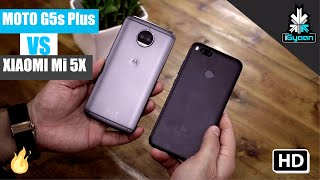Motorola Moto G5s Plus vs Xiaomi Mi 5X Comparison : Build, Usage and Camera