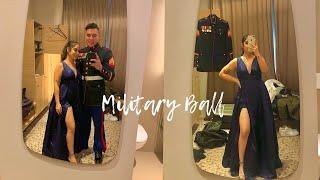 MILITARY BALL 2019 |GRWM| MARINE CORPS 244th B-day