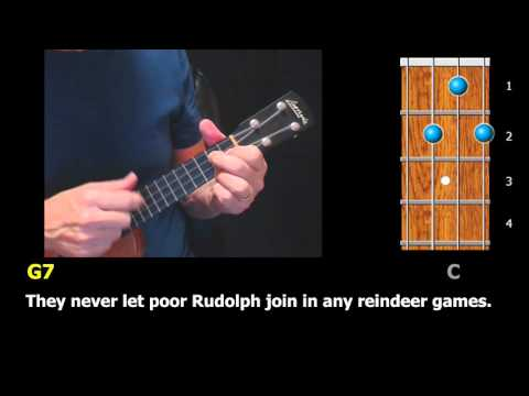 Harmonica harmonica tabs rudolph red nosed reindeer : Rudolph the Red-Nosed Reindeer – #Christmas #Ukulele Strum-Along