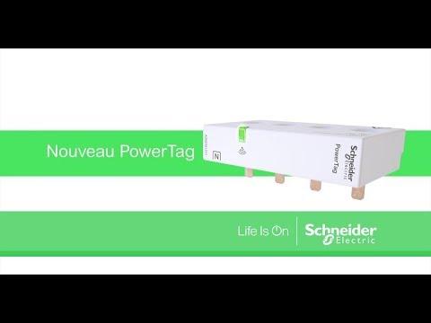PowerTag - capteur de mesure radio-fréquence - iC60 iID DT60 - 1P+N 63A - amont