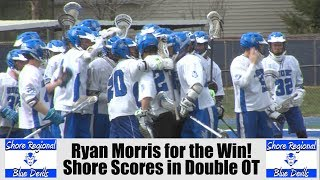 Shore Regional 6 Red Bank Catholic 5 | Double OT | Ryan Morris Game Winner