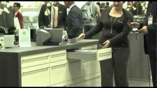 IFA Highlights 2010 (4/29):  Platzsparende Einbaulösungen von Ritter