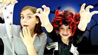 Делаем костюм на Хэллоуин - Смешные видео для девочек с Барби.