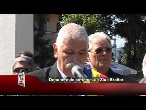 DEPUNERE DE COROANE, DE ZIUA EROILOR