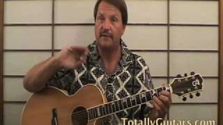 Harvest Guitar Lesson - Neil Young