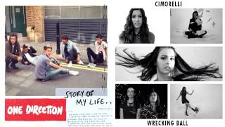 Story of A Wrecking Ball (Mashup) - One Direction & Cimorelli