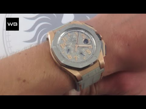 "Audemars Piguet Royal Oak Offshore ""LeBron James"" Limited Edition Luxury Watch Review"