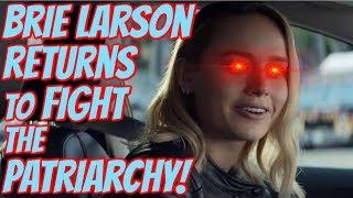 Brie Larson Stars in CRINGE Feminist Car Commercial - Nissan Gets Woke