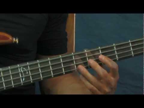 beginner bass guitar lesson bouree jethro tull bach
