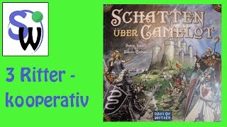 Schatten über Camelot - 3 Ritter, kooperativ (let's play)