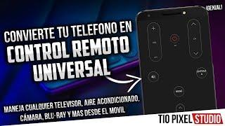 LA MEJOR APP DE CONTROL REMOTO UNIVERSAL PARA TODO TV, BLURAY, DVD Y MAS BRUTAL APLICACIÓN
