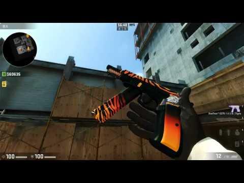 CS:GO   CZ75-Auto Tigris Gameplay - смотреть онлайн на Hah Life