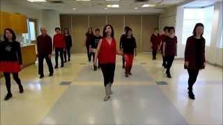 Sassy Santa Claus Line Dance (Dance & Teach)