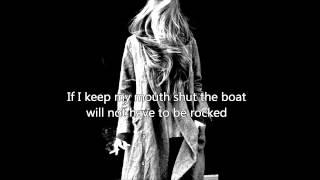 Alanis Morissette -- Would Not Come (lyrics)