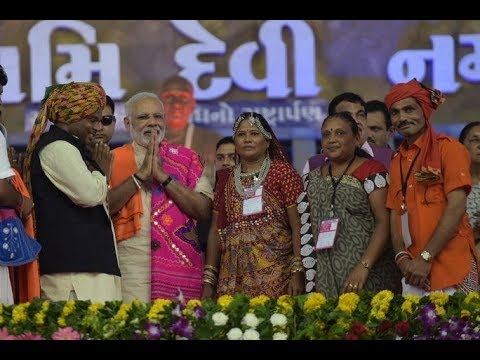 PM Modi laid foundation stone for National Tribal Freedom Fighters' Museum