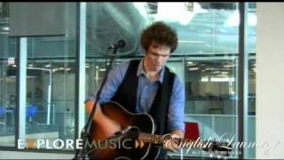 Josh Ritter performs The Remnant at ExploreMusic