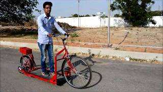 TREADMILL BICYCLE INNOVATION OF MODERN ERA